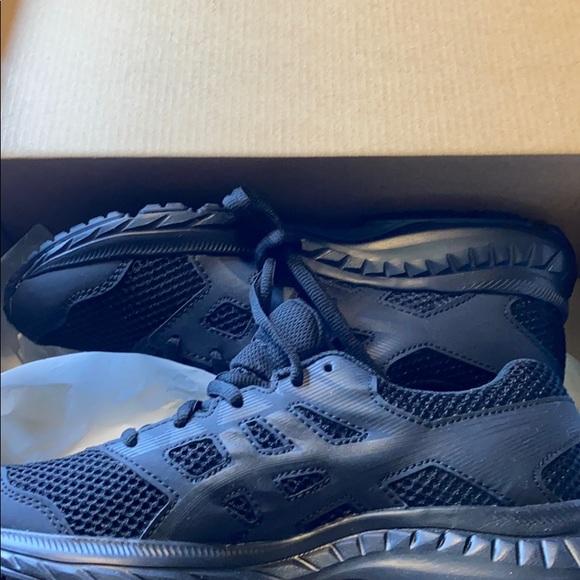 Asics Shoes | Brand New Black Boys